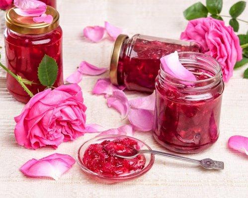 Картинки по запросу варенье из чайной розы