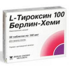 л-тироксин берлин хеми 100 инструкция по применению