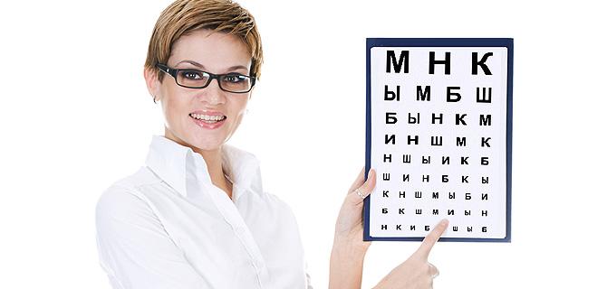Картинки по запросу картинка изучения остроты зрения визометрии
