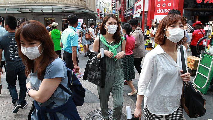 Коронавирус MERS набирает обороты в Южной Корее