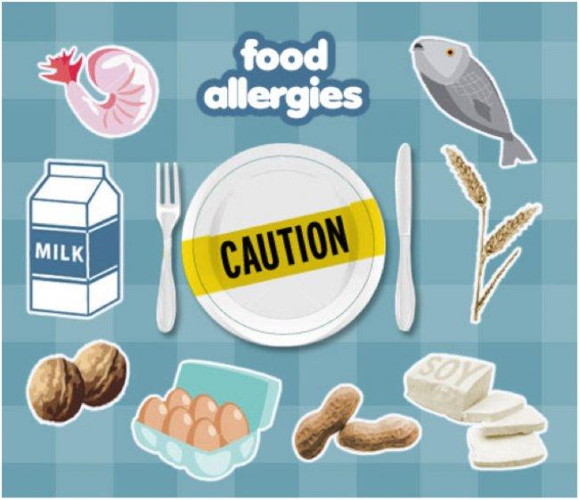 Американец страдает аллергией на всю еду