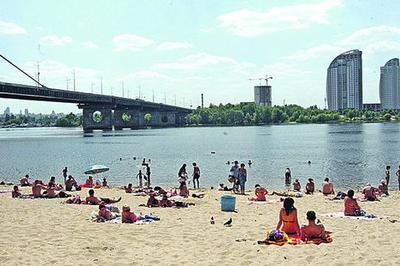 Как узнать о безопасности пляжей Киева