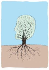 голова-дерево