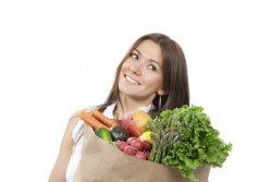женщина из супермаркета