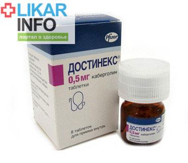 препарат достинекс инструкция по применению