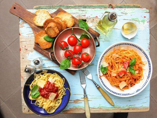 правила раздельного питания для похудения таблица