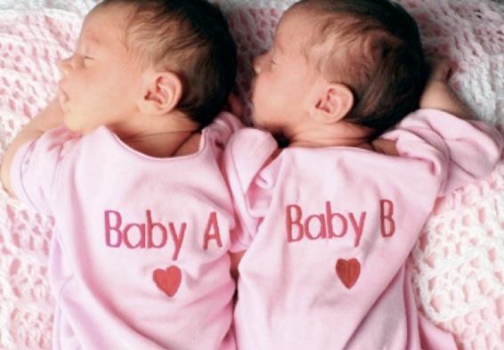 Фото рождения близнецов