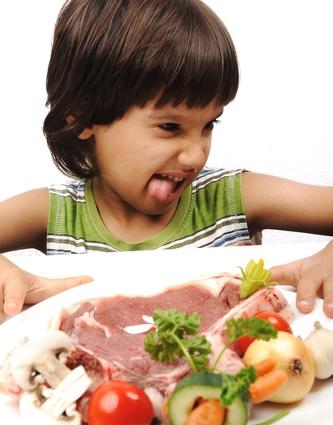 как едят детей: