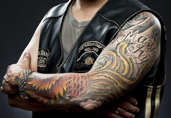 Татуировки усиливают иммунитет— Ученые