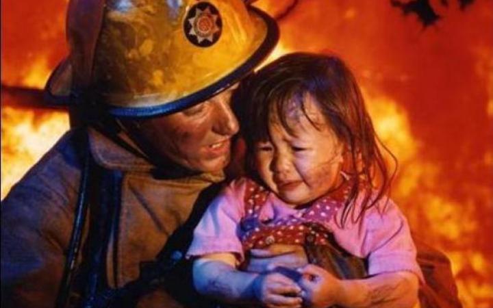 Первая помощь пострадавшим при пожаре