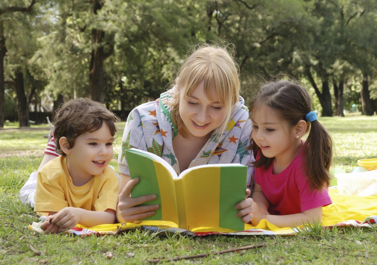 Как увлечь малыша чтением