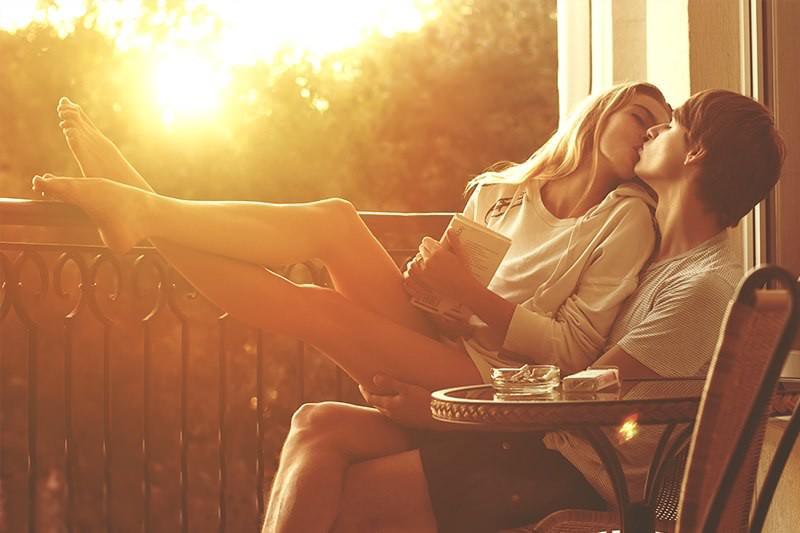 Картинки влюбленных пар утром