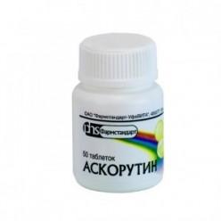 аскорутин инструкция по применению цена в николаеве