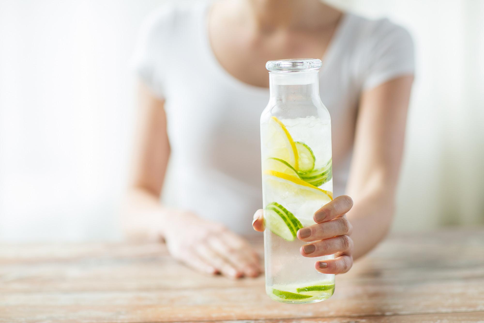 Цитрусовая вода для утра