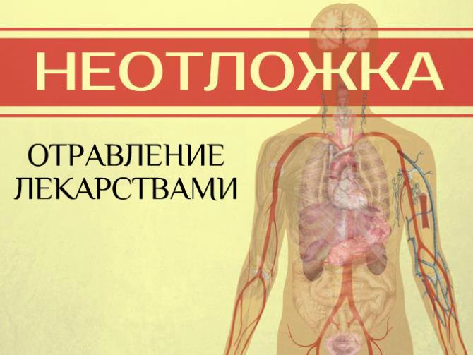 Доклад на тему отравление лекарственными препаратами 4155