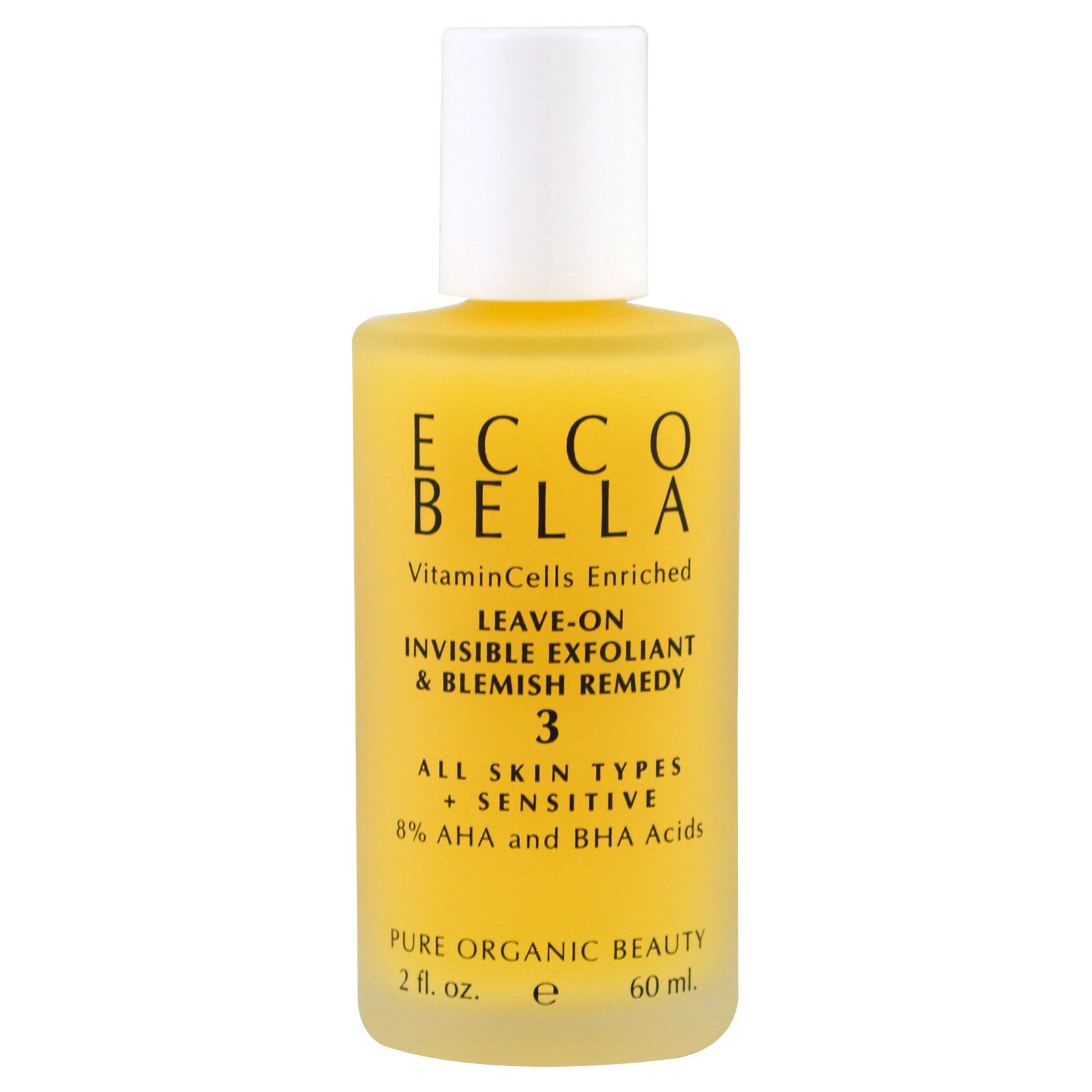 Ecco Bella Natural Leave-On Invisible Exfoliant and Blemish Remedy.