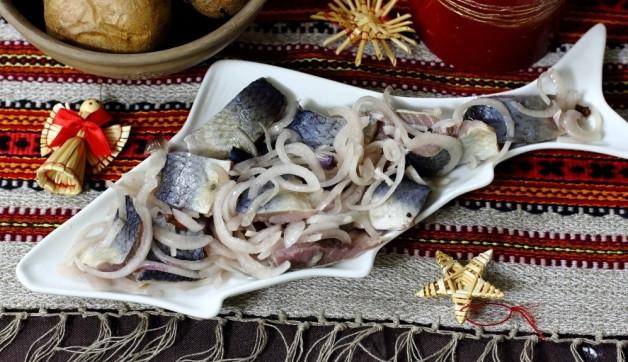 сельд с луком