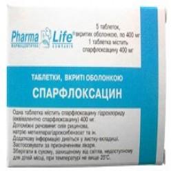 спарфлоксацин инструкция по применению цена - фото 5