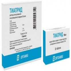 Инструкция тиаприд таблетки по применению