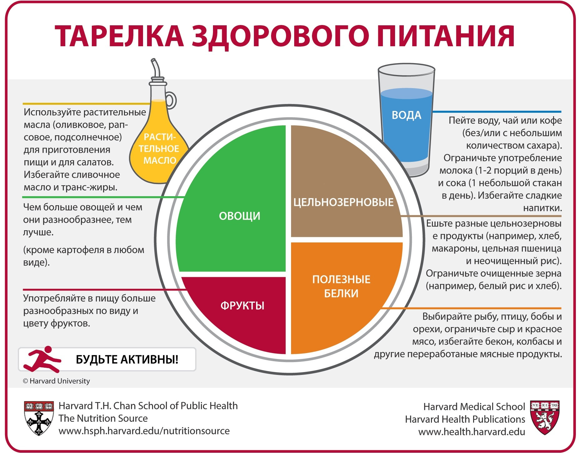 Healthy Eating Plate на русском