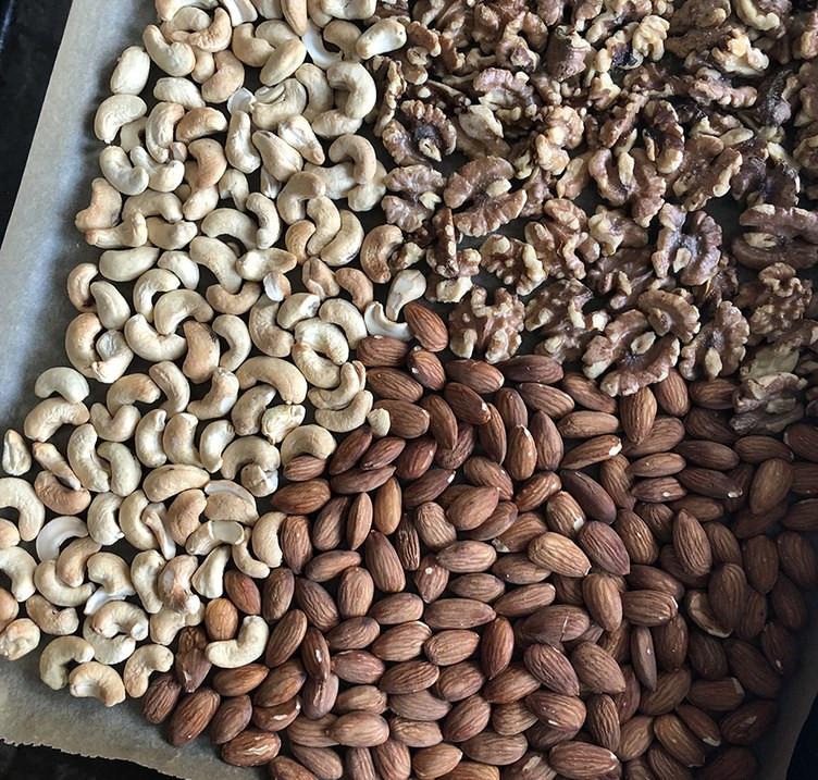 приготовить ореховую пасту