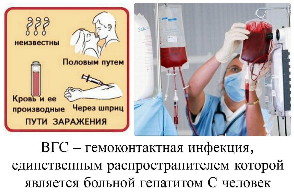 Передача гепатита с без спермы