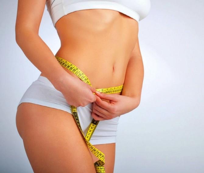 как похудеть жир на животе