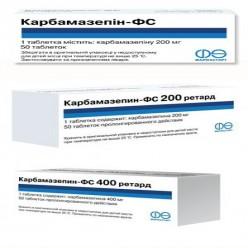 Карбамазепин-фс 400 ретард