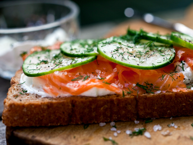 бутерброд здоровое питание