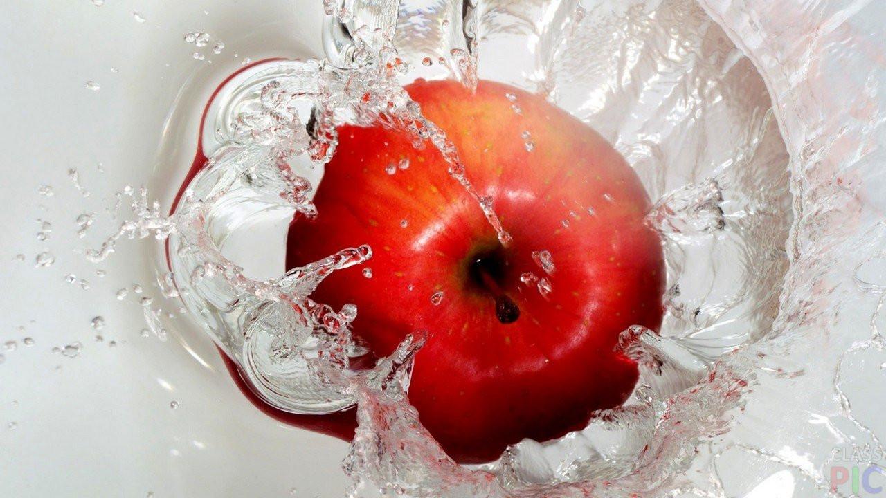 Яблочная водичка с имбирем
