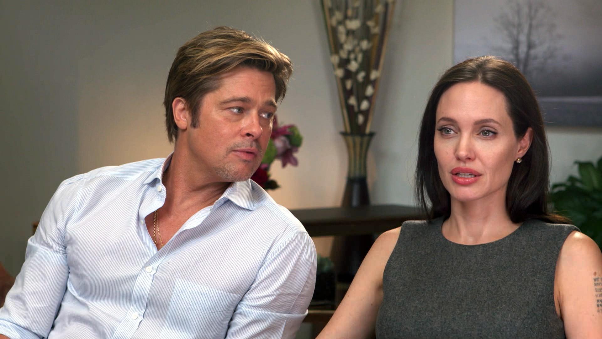 Анджелина Джоли и Брэд Питт развод