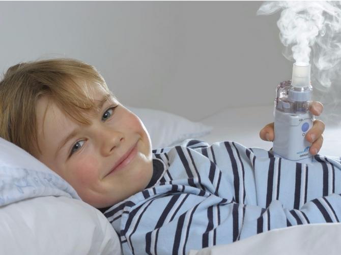 От простуды помогут ингаляции