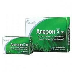 алерон сироп для детей инструкция